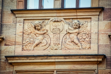 Old building ornament / Buildings have often been decorated with ornaments in the past