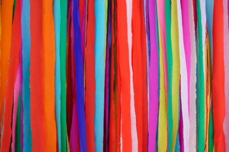 Background made ​​of many colored paper photo