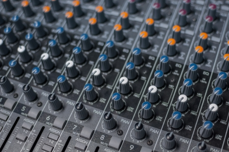 This mixer is used to mix the melodic music photo