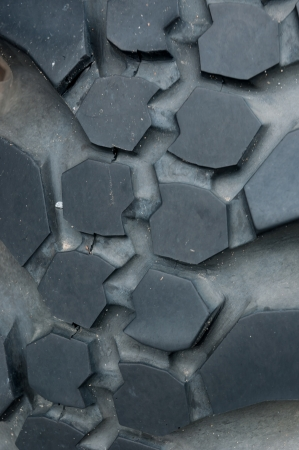 Surface of the tire through the use of Stock Photo - 22488069