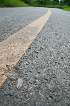 The surface of lines on the road Stock Photo - 22488082