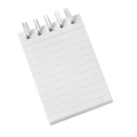 Notebook commonly used for notes or reminders photo
