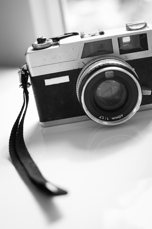 that: Film cameras that had been popular in the past
