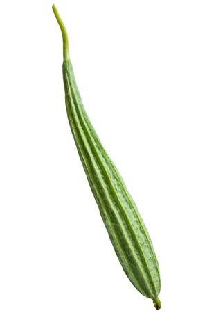 cylindrica: Type of zucchini, Scientific name is  Luffa cylindrica (Linn.) M.J Roem