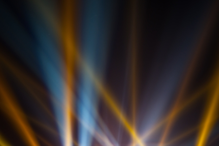 laser lights: Light of the spotlight that shines on the sky Stock Photo