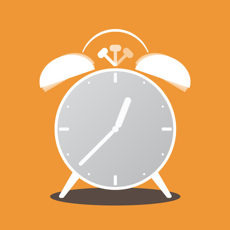 Retro object, Alarm clock Vector