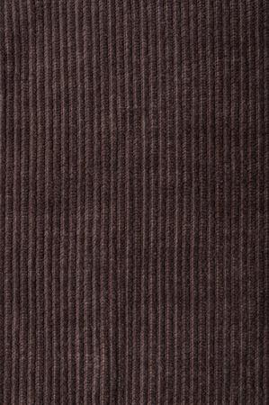 corduroy: Texture di velluto a coste marrone