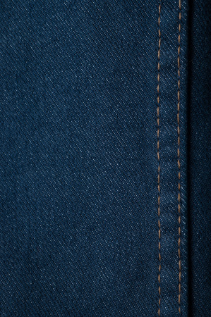 cotton  jeans: Texture of blue jeans background Stock Photo