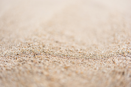 Sandy beach for texture background Stock Photo