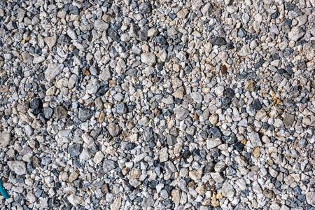 Stone scree texture background Imagens