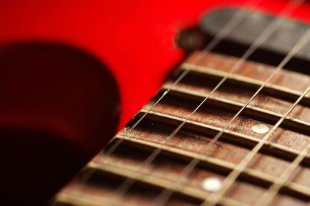 resonate: Red guitar