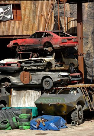 junkyard photo