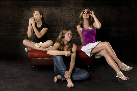 see no evil, hear no evil, speak no evil Stock Photo - 5630320