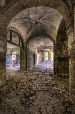 ruinous: the hall