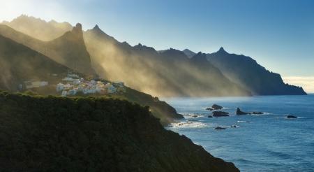 Anaga Mountains on Tenerife Stock Photo