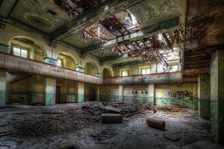 impressive: Ancient building Stock Photo