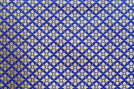 A collection of Thai silk cloths