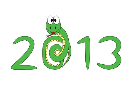 2013 small snake Stock Vector - 17004831