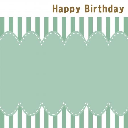 Birthday card Stock Vector - 17433690