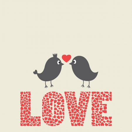 love birds: Love bird bird