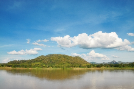 View of Khong river