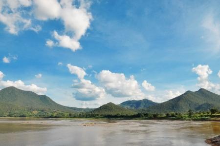 View of Khong river