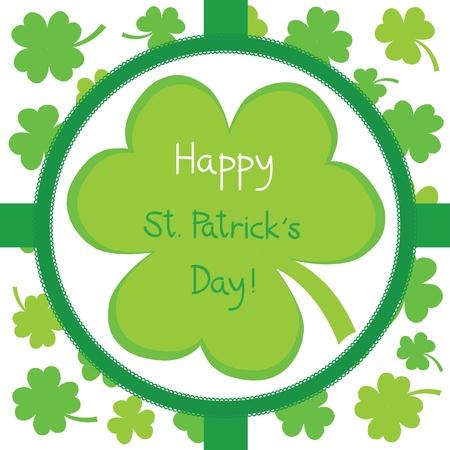 Happy Saint Patrick s Day Stock Vector - 17896659