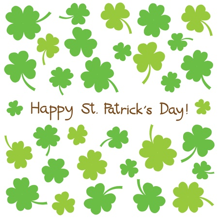 Saint Patrick s Day Card Stock Vector - 18129172