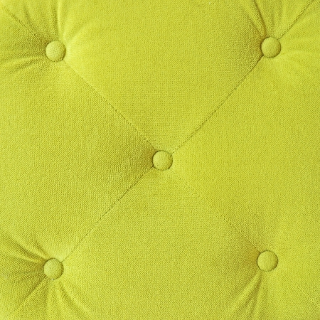 hassock: Green background Stock Photo