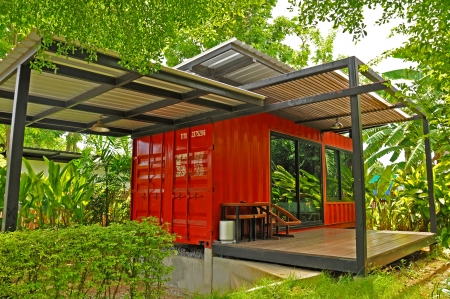 The container cabin