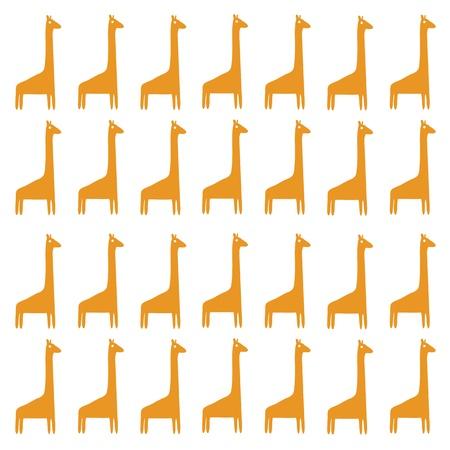 Giraffes background