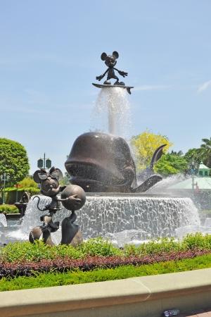 Disneyland in Hongkong  Editorial