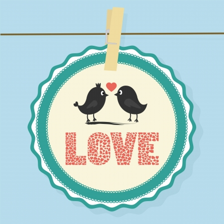Love Card10 Vector