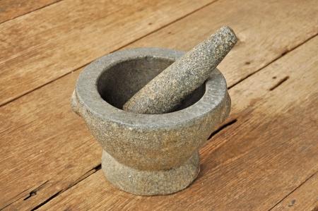 The mortar