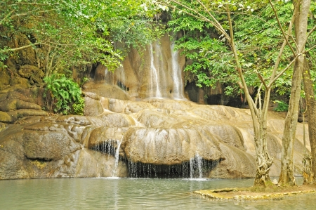 Sai Yok Noi waterfall photo