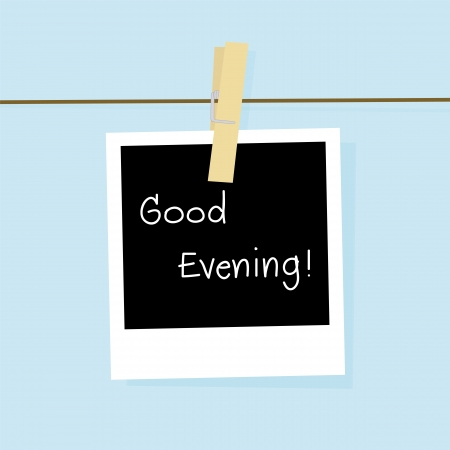 bonsoir: Bonne carte du soir