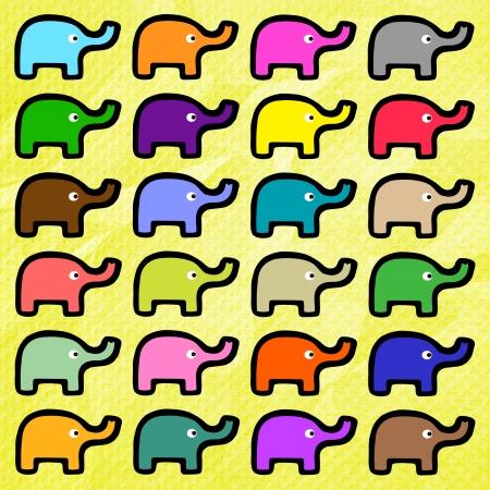 crinkle: Elephants