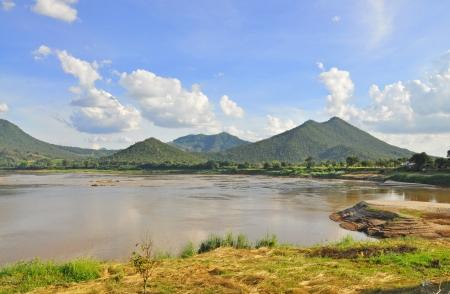 khong river: View of Khong river