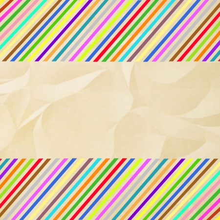 crinkle: Colorful crinkle paper1 Stock Photo