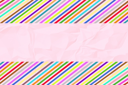 crinkle: Colorful crinkle paper4 Stock Photo