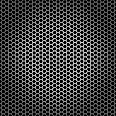 Gray metal pattern for background and texture  photo