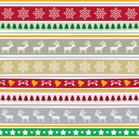 Seamless Christmas pattern for background  Stock Vector - 23867743