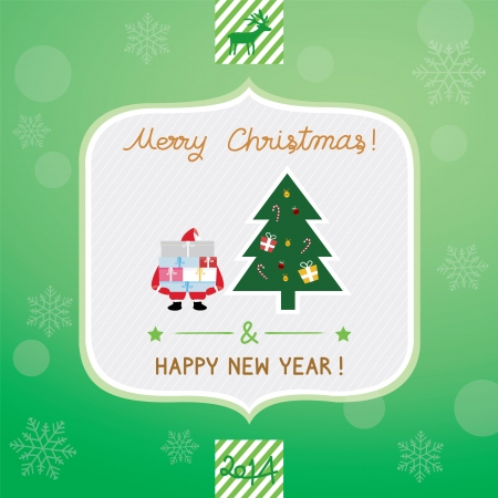 Christmas greeting card for everyone