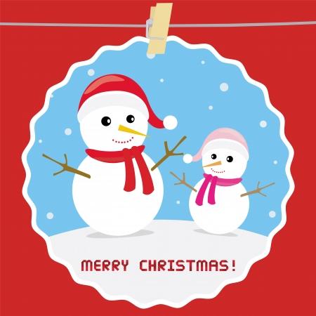 Christmas greeting card25 Vector