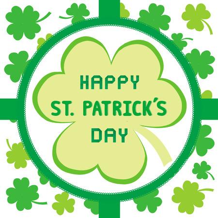 saint patrick's day: Card for Saint Patrick s Day