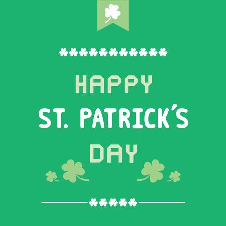 saint patrick��s day: Card for Saint Patrick s Day