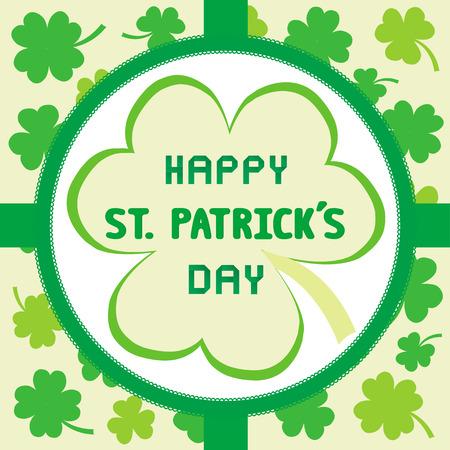 saint patrick   s day: Card for Saint Patrick s Day