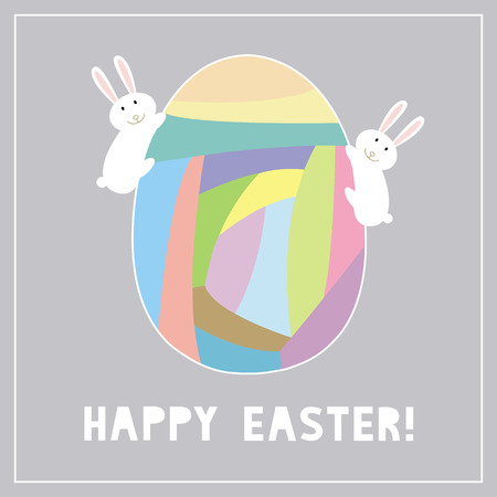 Card for happy Easter Day