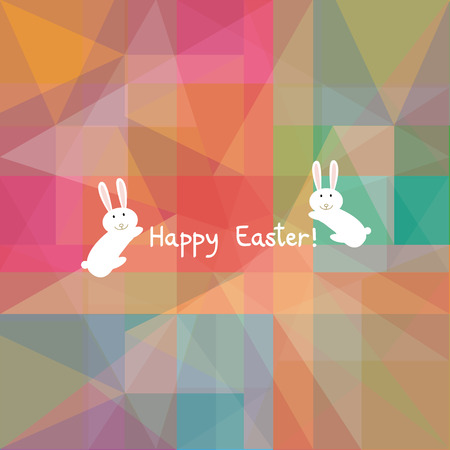Card for happy Easter Day  Vector