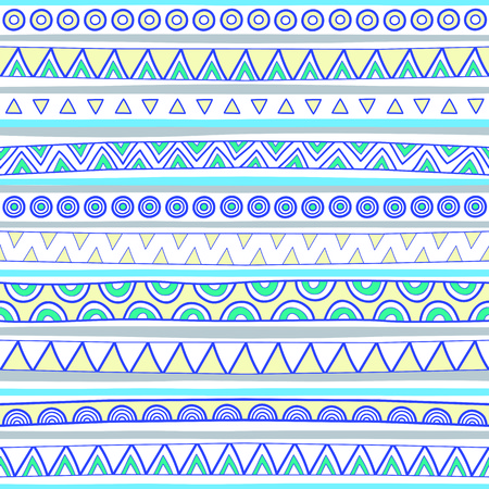 Seamless multicolor pattern